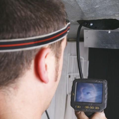 Kanalinspektion mit Kamera